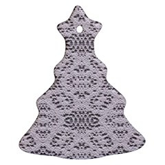 Bridal Lace 3 Ornament (Christmas Tree)