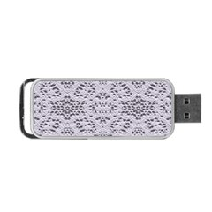 Bridal Lace 3 Portable Usb Flash (one Side)