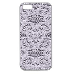 Bridal Lace 3 Apple Seamless iPhone 5 Case (Clear)