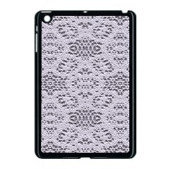 Bridal Lace 3 Apple iPad Mini Case (Black)