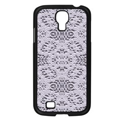 Bridal Lace 3 Samsung Galaxy S4 I9500/ I9505 Case (Black)