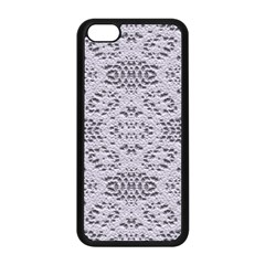 Bridal Lace 3 Apple iPhone 5C Seamless Case (Black)