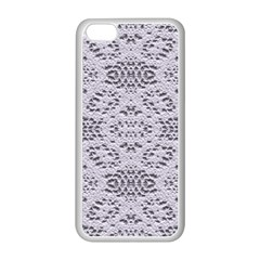 Bridal Lace 3 Apple iPhone 5C Seamless Case (White)