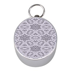 Bridal Lace 3 Mini Silver Compasses