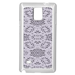 Bridal Lace 3 Samsung Galaxy Note 4 Case (White)