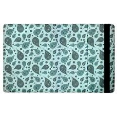 Vintage Paisley Aqua Apple iPad 3/4 Flip Case