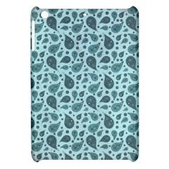 Vintage Paisley Aqua Apple iPad Mini Hardshell Case