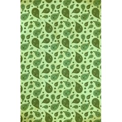 Vintage Paisley Green 5.5  x 8.5  Notebooks