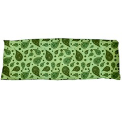 Vintage Paisley Green Body Pillow Cases (dakimakura)