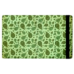 Vintage Paisley Green Apple iPad 3/4 Flip Case