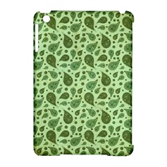 Vintage Paisley Green Apple iPad Mini Hardshell Case (Compatible with Smart Cover)