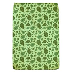 Vintage Paisley Green Flap Covers (L)