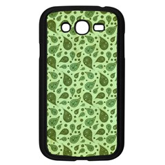 Vintage Paisley Green Samsung Galaxy Grand DUOS I9082 Case (Black)