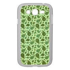 Vintage Paisley Green Samsung Galaxy Grand DUOS I9082 Case (White)