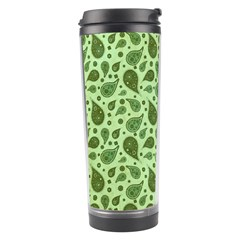 Vintage Paisley Green Travel Tumblers