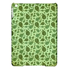 Vintage Paisley Green iPad Air Hardshell Cases