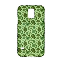 Vintage Paisley Green Samsung Galaxy S5 Hardshell Case