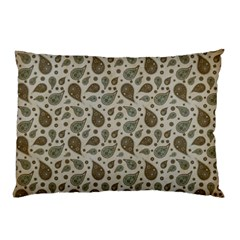 Vintage Paisley Grey Pillow Cases (Two Sides)