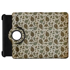 Vintage Paisley Grey Kindle Fire HD Flip 360 Case