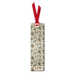 Vintage Paisley Grey Small Book Marks