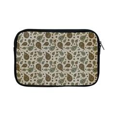 Vintage Paisley Grey Apple iPad Mini Zipper Cases