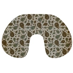 Vintage Paisley Grey Travel Neck Pillows