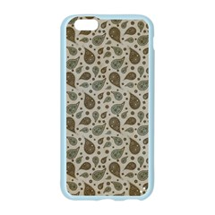Vintage Paisley Grey Apple Seamless iPhone 6/6S Case (Color)