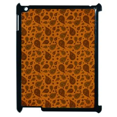 Vintage Paisley Terra Apple iPad 2 Case (Black)