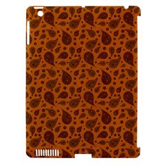 Vintage Paisley Terra Apple iPad 3/4 Hardshell Case (Compatible with Smart Cover)