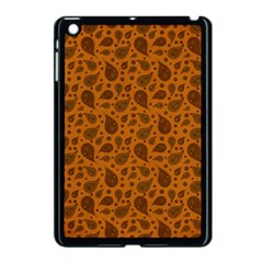 Vintage Paisley Terra Apple iPad Mini Case (Black)