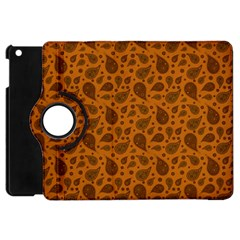 Vintage Paisley Terra Apple iPad Mini Flip 360 Case