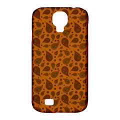 Vintage Paisley Terra Samsung Galaxy S4 Classic Hardshell Case (PC+Silicone)