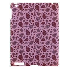 Vintage Paisley Pink Apple iPad 3/4 Hardshell Case