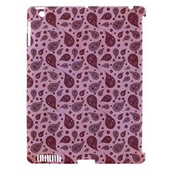 Vintage Paisley Pink Apple iPad 3/4 Hardshell Case (Compatible with Smart Cover)