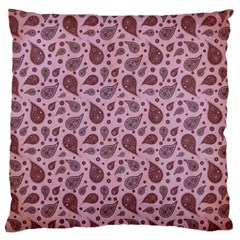 Vintage Paisley Pink Large Cushion Cases (two Sides)
