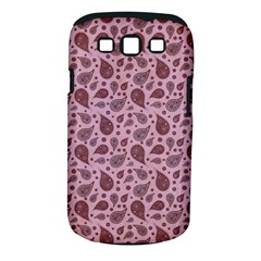 Vintage Paisley Pink Samsung Galaxy S III Classic Hardshell Case (PC+Silicone)