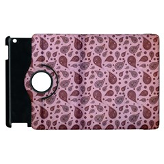 Vintage Paisley Pink Apple iPad 3/4 Flip 360 Case