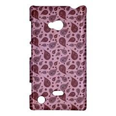 Vintage Paisley Pink Nokia Lumia 720