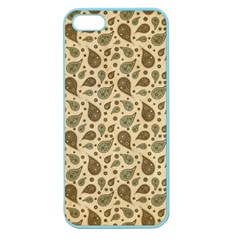 Vintage Paisley Apple Seamless iPhone 5 Case (Color)