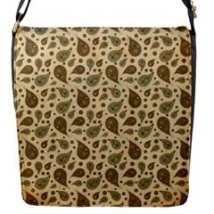 Vintage Paisley Flap Messenger Bag (S)
