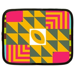 Shapes in a mirror Netbook Case (XXL)