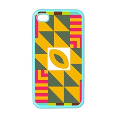 Shapes In A Mirror Apple Iphone 4 Case (color)