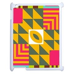 Shapes in a mirror Apple iPad 2 Case (White)