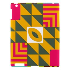 Shapes in a mirror Apple iPad 3/4 Hardshell Case