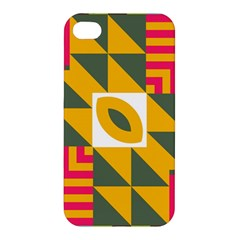 Shapes in a mirror Apple iPhone 4/4S Premium Hardshell Case