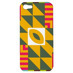 Shapes in a mirror Apple iPhone 5 Hardshell Case