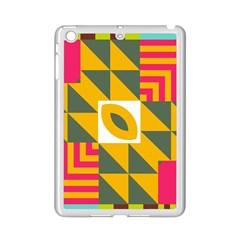 Shapes in a mirror Apple iPad Mini 2 Case (White)
