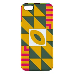 Shapes in a mirror Apple iPhone 5 Premium Hardshell Case
