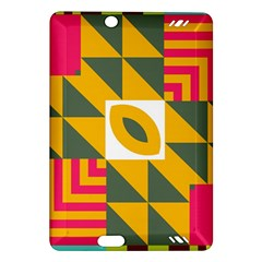 Shapes in a mirror Kindle Fire HD (2013) Hardshell Case
