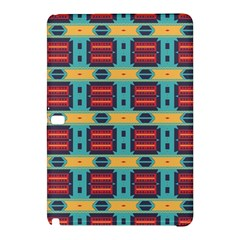 Blue red and yellow shapes patternSamsung Galaxy Tab Pro 10.1 Hardshell Case